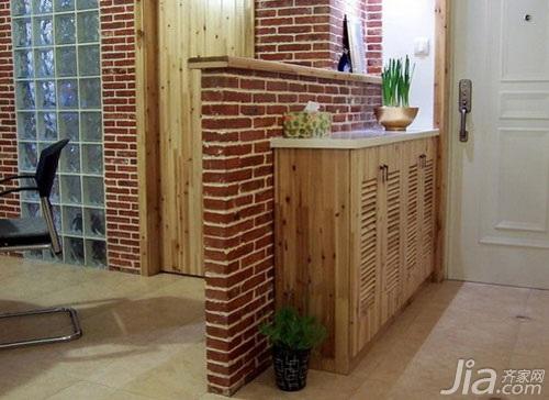 混搭风格小户型3万以下60平米玄关玄关柜图片