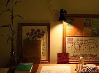 日式风格四房富裕型60平米新房家装图