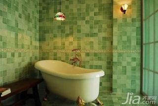 新古典风格别墅富裕型80平米卫生间新房平面图