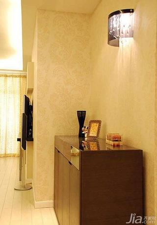 欧式风格二居室鞋柜婚房家居图片