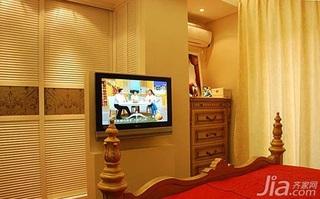欧式风格二居室婚房家装图片