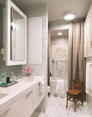 欧式风格别墅富裕型90平米卫生间洗手台新房家装图片