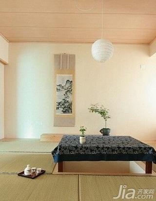 日式风格复式富裕型80平米新房家装图