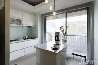 欧式风格一居室5-10万60平米客厅吧台新房家装图
