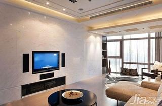 简约风格二居室5-10万50平米玄关电视背景墙茶几婚房家装图