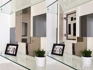中式风格二居室5-10万60平米玄关新房家装图片