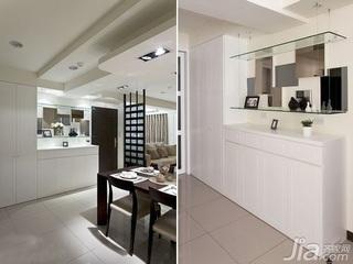 中式风格二居室5-10万60平米客厅新房家装图