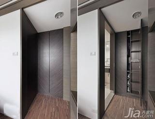 日式风格二居室5-10万50平米客厅新房家装图