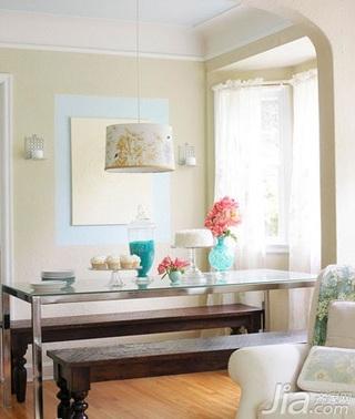 田园风格别墅豪华型120平米客厅茶几新房家装图