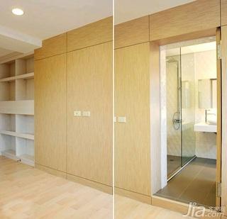 简约风格二居室5-10万70平米玄关新房家居图片