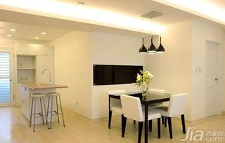 简约风格二居室5-10万70平米玄关灯具新房设计图纸