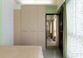 简约风格二居室5-10万60平米客厅衣柜图片