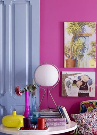 新古典风格二居室10-15万80平米玄关床新房设计图纸