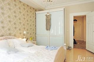 欧式风格二居室10-15万60平米客厅衣柜设计