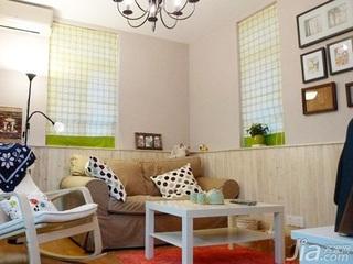 宜家风格一居室经济型客厅沙发图片