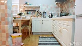 宜家风格一居室经济型厨房橱柜订做