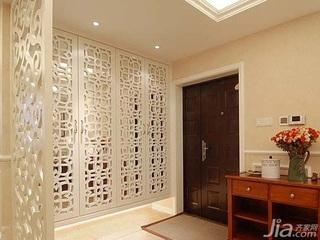 简欧风格四房富裕型门厅隔断设计图