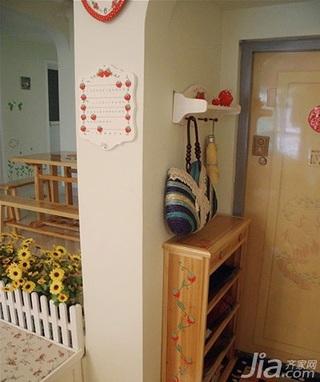 简约风格四房10-15万100平米客厅鞋柜三口之家家居图片