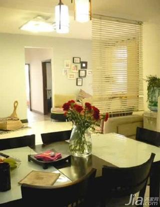 简约风格二居室10-15万90平米玄关餐桌新房家居图片