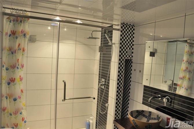 四房经济型卫生间洗手台效果图