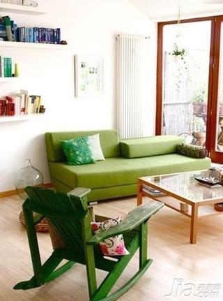 简约风格四房简洁3万以下90平米玄关沙发背景墙沙发新房平面图