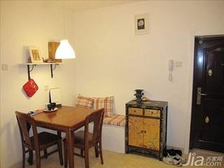 简约风格二居室3万以下70平米客厅鞋柜二手房家居图片