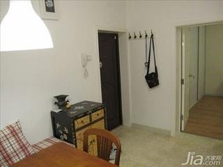 简约风格二居室3万以下70平米客厅鞋柜二手房家装图片