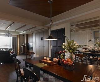 四房10-15万餐厅餐桌婚房家装图片
