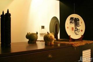 中式风格二居室15-20万110平米新房家装图