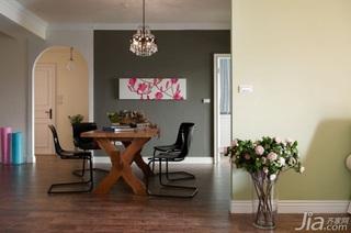 简约风格二居室10-15万70平米玄关餐桌新房平面图