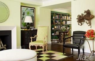 欧式风格二居室5-10万70平米客厅灯具效果图