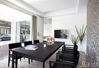欧式风格简洁5-10万80平米餐厅餐桌效果图
