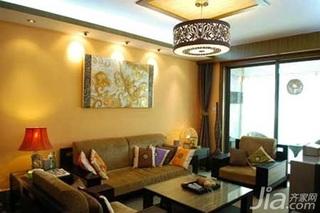 简约风格二居室大气5-10万60平米玄关沙发背景墙沙发效果图