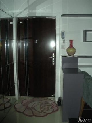 简约风格四房10-15万120平米客厅鞋柜新房设计图纸
