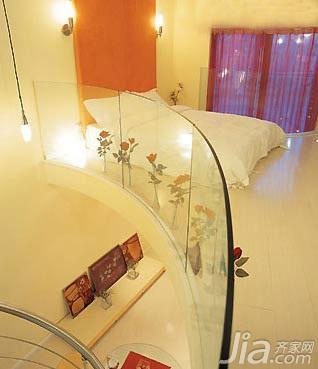 简约风格小户型3万以下40平米卧室床图片
