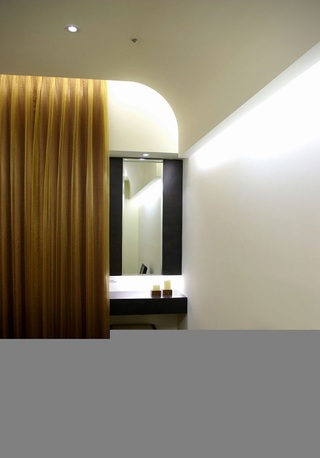 简约风格二居室15-20万80平米客厅新房家装图片