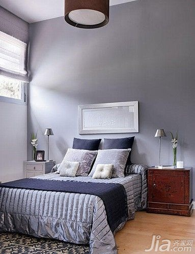 欧式风格小户型5-10万50平米卧室床新房设计图纸