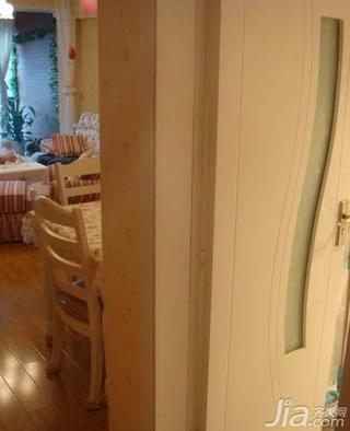田园风格二居室3万以下70平米新房家装图