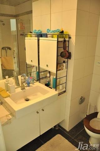 日式风格一居室3万以下60平米洗手台新房家装图片