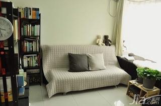 日式风格一居室3万以下60平米飘窗沙发新房家装图