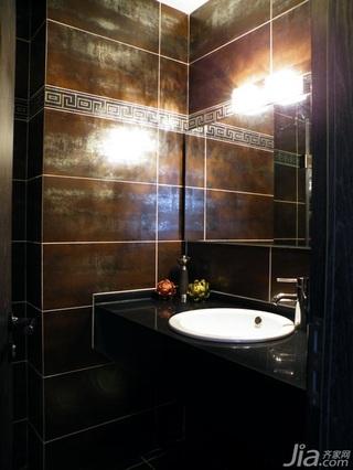 混搭风格10-15万80平米卫生间洗手台新房家装图片