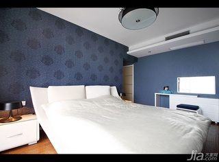 简约风格四房15-20万120平米儿童房床新房平面图