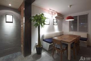 简约风格别墅5-10万餐厅餐桌新房平面图