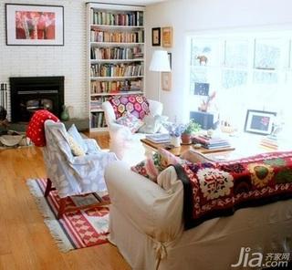 欧式风格一居室5-10万50平米客厅沙发新房平面图