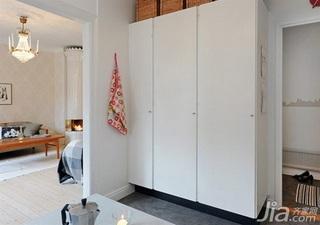 北欧风格公寓40平米衣柜定做
