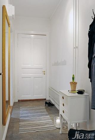 北欧风格公寓40平米门厅设计图纸