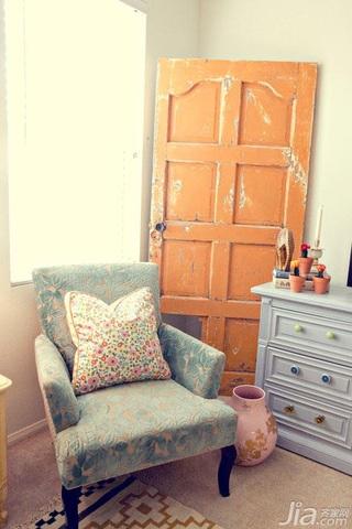 混搭风格二居室5-10万60平米沙发新房家装图片
