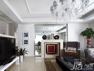 欧式风格跃层大气豪华型140平米以上客厅沙发效果图