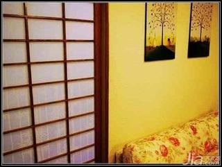日式风格二居室5-10万70平米客厅新房家装图