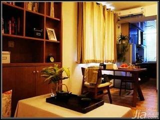 日式风格二居室5-10万70平米餐厅餐桌新房家装图